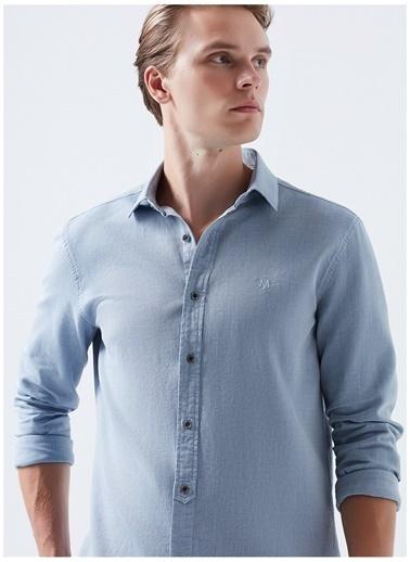 Mavi Gömlek Turkuaz